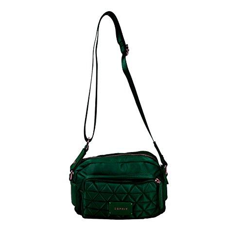 ESPRIT Wing Shoulderbag Grün Damen Handtasche Tasche Schultertasche Umhängetasche Taschen Modern Einfarbig