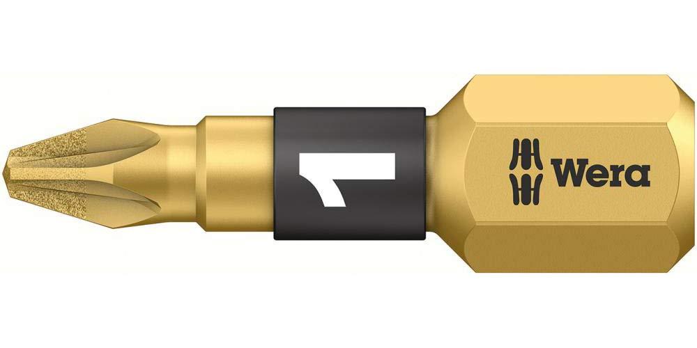 Wera 855/1 BDC Pozidriv BiTorsion PZ1 Bit Diamond Coated Tip 25 mm Pack 10: Amazon.es: Bricolaje y herramientas