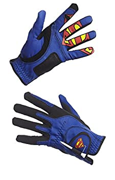 Creative Covers for Golf Malesuperman Golf Glove - Men s O/S Royal Blue/Black/Red One Size