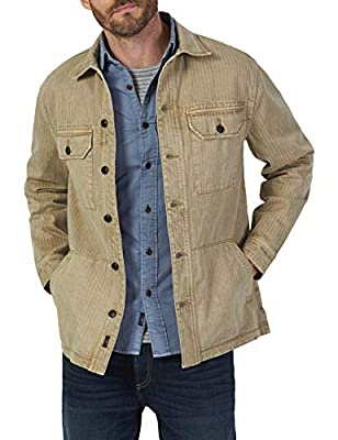 Faherty Men's Garment Dyed Corporal Jacket in Tan by Faherty