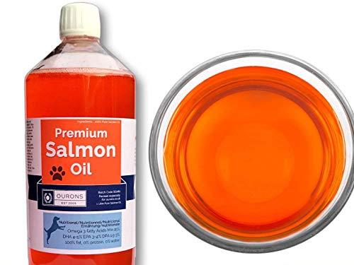 OURONS Aceite de salmón para Perros. presentación 1000 ML