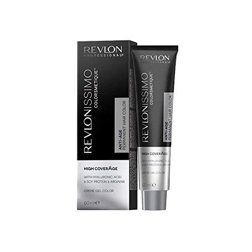 Revlon Professional Revlonissimo Colorsmetique High CoverAge Anti-Age Permanent Hair Color 5, Hellbraun, 1er Pack(1 x 60 ml)