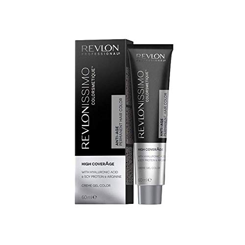 Revlon Professional Revlonissimo Colorsmetique High CoverAge Permanent Hair Color 9.32, zeer lichtblond parelmoer goud, per stuk verpakt (1 x 60 ml)