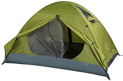 WY-YAN 2 Person Camping Tent Outdoor Sun Shelter Instant Cabana Waterproof Shade Canopy for Sports Hiking Travel Rainfly (Color : Green)