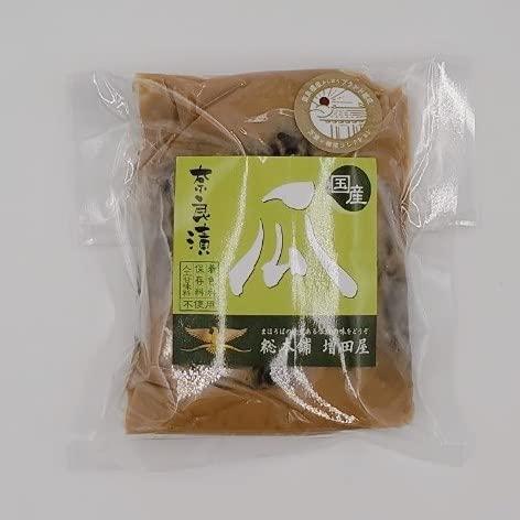 瓜 奈良漬 1/2舟 奈良で作りました 国産 うり 使用 橿原神宮奉納 橿原ブランド認定品