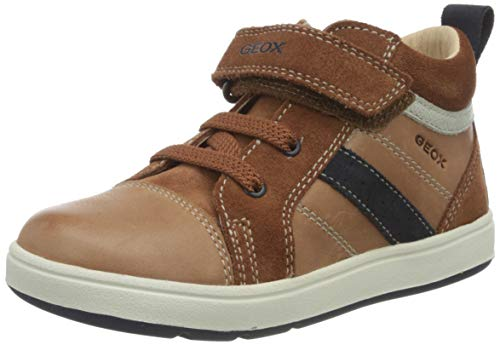 Geox Baby-Jungen B BIGLIA Boy A First Walker Shoe, Blau (Brandy/Navy), 23 EU
