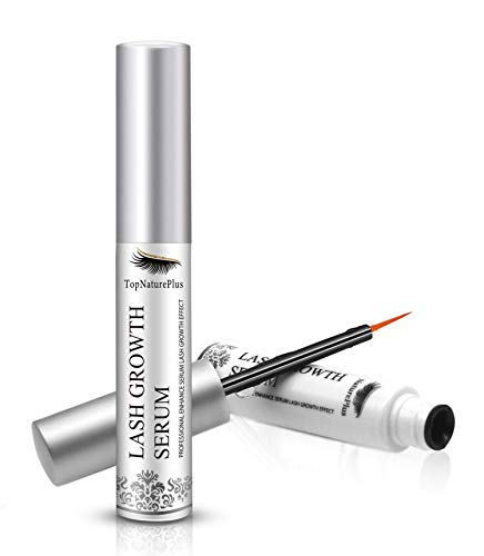 Eyelash Growth Serum Stimulate Growth for Eyelashes, Eyebrows, Hair, Eyelash - Grow Longer Fuller Eyelashes