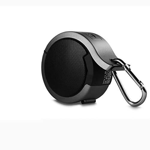 Lamp love Subwoofer Altavoz Bluetooth Subwoofer Portátil Inalámbrico Móvil Walkman Computadora Móvil Tarjeta De Deportes Al Aire Libre Mini Altavoz De Audio Accesorios Electronicos (Color : Black)