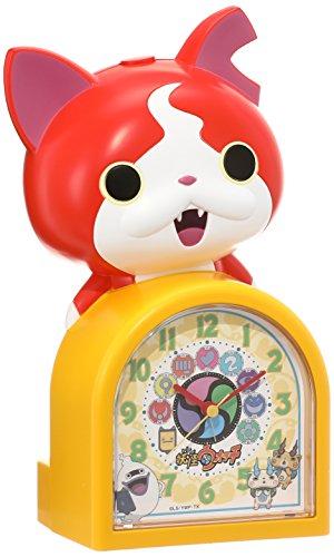 セイコー クロック 目覚まし時計 妖怪ウォッチ ジバニャン キャラクター型 おしゃべり アラーム アナログ JF378A SEIKO
