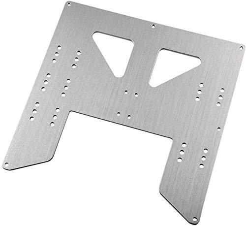 Durable Placa de aleación de actualización Y-Carriage para Anet A8 A6 3D Printer Upgrade Y Carriage Placa de Aluminio anodizado Piezas de Impresora 3D