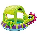 A/A Piscina hinchable Hippocampus para niños, centro de juegos de agua, piscina para niños, esparcir o almacenar agua para jugar, piscina familia/piscina infantil.