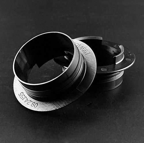 4 piezas 96 mm 3.8 pulgadas centro centro tapas clip anillo nylon para BBS #09.24.155 llantas