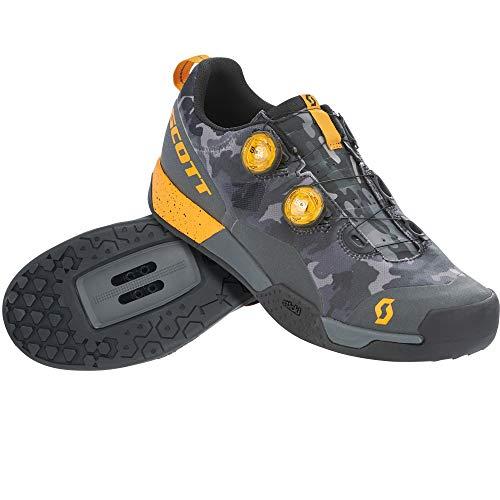 SCOTT 265950, Scarpa Ciclismo Uomo, Dk gr/tu Ora, 42.0