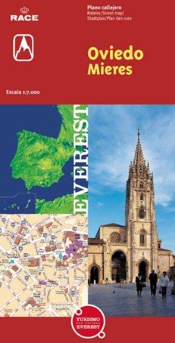 Oviedo y Mieres. Plano callejero (Planos callejeros / serie roja)