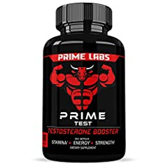 OPTIMIZED PHYSICAL PERFORMANCE: Suffering from low test impacts energy, strength and stamina, which is why Prime Test is a natural test booster that revitalizes and restores your manhood. BUILD STRONGER, LEANER MUSCLES: A daily supplement that natura...