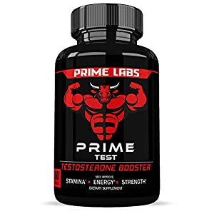 Prime Labs - Men\'s Test Booster - Natural Stamina, Endurance and Strength Booster - 60 Caplets
