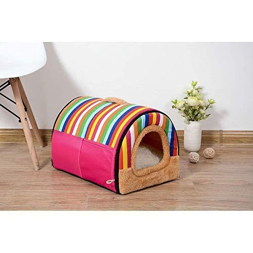YYANG Tipo De Túnel Cama De Gato De Doble Uso para Perros Perrera Nido para Mascotas (Color: 1 Tamaño: L),4-M