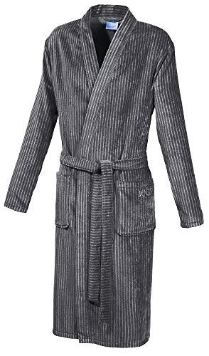 Joop! Bademantel Herren Kimono 1630 Graphit - 77 L