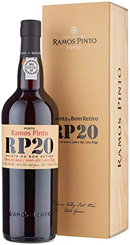 Ramos Pinto RP 20 Tawny Port Quinta Do Bom Retiro 20 Years in Geschenkpackung Portwein (1 x 0.75 l)