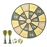Sxhlseller Objetivos de Juguete de dardo para niños para Disparar, Juego de Camuflaje de Objetivo de dardo, Juguetes al Aire Libre para niños