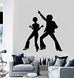 Tianpengyuanshuai Calcomanía de Vinilo para Pared Disco Ball Art Sticker Mural Home Living Room Decoración -42x44cm
