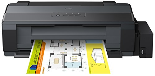 Epson EcoTank ET-14000, Impresora color (inyección de tinta, con tecnología Micro Piezo), color negro