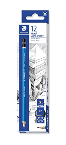 STAEDTLER Mars 100-HB LUMOGRAPH Pencil HB - Box of 12