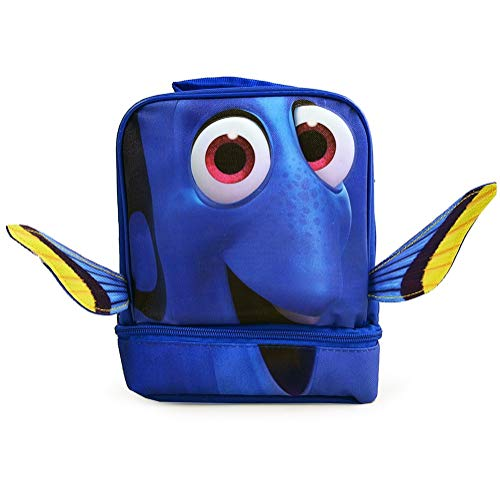 Dory Finding Nemo Disney Kids Insulated 2-Section Padded Lunch Bags Lunchbox
