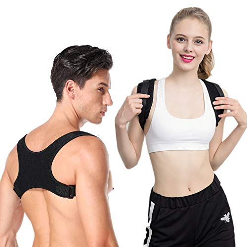 LQWY Posture Corrector for Men and Women Adjustable back brace Straightener posture corrector back support Posture Brace for Neck Shoulder Back Pain Relief