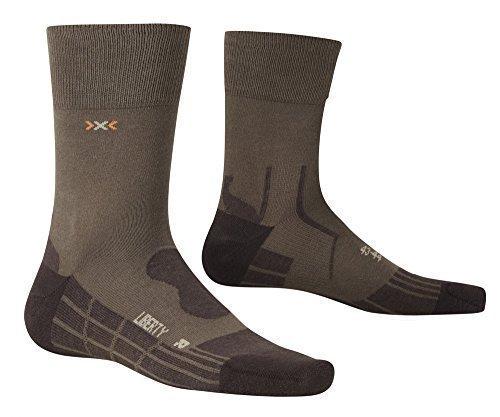 X-Socks Respirantes Liberty Adulte Multicolore Marron 39/40