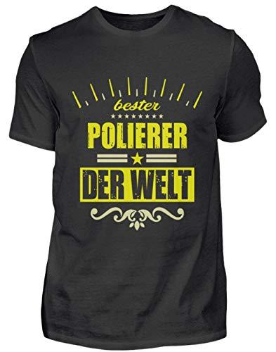Polijstmachine T-shirt geschenk beroep grappige spreuk - heren shirt