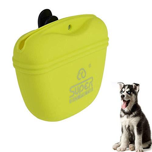 jieqing Bolsa Premios Adiestramiento Perros Bolsa Entrenamiento Perro Bolsa de Entrenamiento para Perros Bolsas portátiles para Perros Green