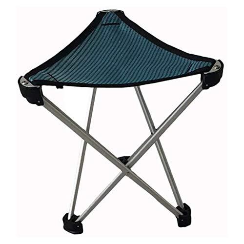 SHUILV Camp Silla Al Aire Libre Portátil Triángulo Taburete Silla de Pesca Silla de Barbacoa Pequeño Caballo Silla Plegable (Color : B)