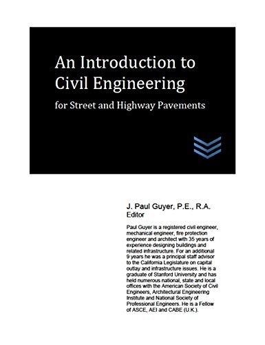 An Introduction to Civil Engineering for Street and Highway Pavements
