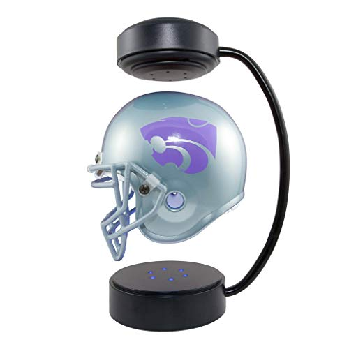 Kansas State Wildcats NCAA Hover Helmet - Collectible Levitating Football Helmet with Electromagnetic Stand