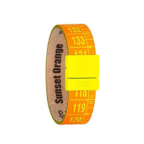 Il centimetro Pulsera Sunset Orange - Talla M - Original - Elaboración artesanal Made in Italy …