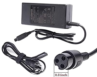 Fancy Buying 3-Prong Inline Connector Battery Charger for Electric Scooter Sports & Outdoor Equipment Power Cord Supply