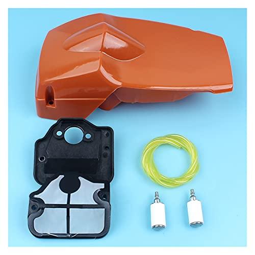 Accesorio Para Motosierra Kit de manguera de filtro de combustible de aire del motor superior compatible con Husqvarna 136 137 141 142 Piezas de repuesto de la motosierra Línea de combustible Motosier
