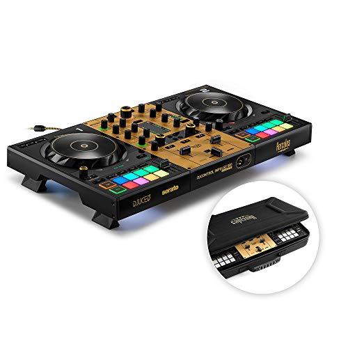 Hercules DJControl Inpulse 500 Gold Edition — Limitierte Edition — 2-Deck-USB-DJ-Controller für Serato DJ Pro und DJUCED