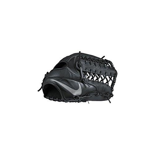 Nike Unisex MVP Prospect 12.00 Post Black/White/White/Metallic Silver Full Right (Throws Left)