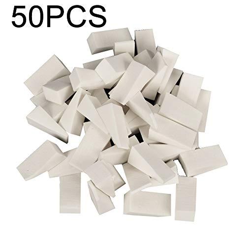 Bodhi2000 Lot de 50 éponges jetables douces pour ongles dégradés de couleur pour manucure