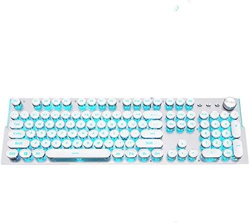 XIUYU Steampunk mechanische Tastatur und Maus-Set Computer-Peripheriegeräte Gaming-Maus und Tastatur-Spiel