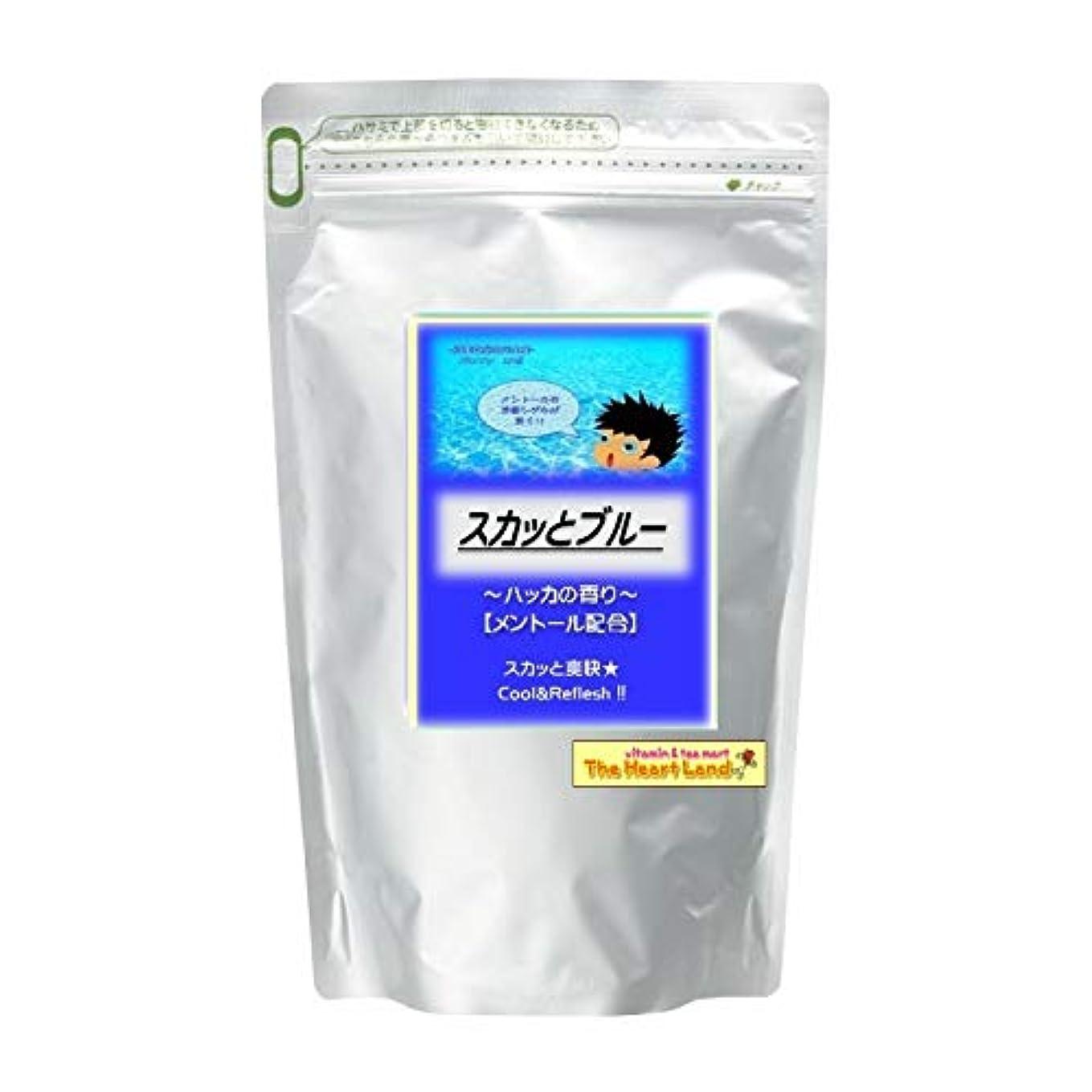 眠っている枠年齢アサヒ入浴剤 浴用入浴化粧品 スカッとブルー 300g