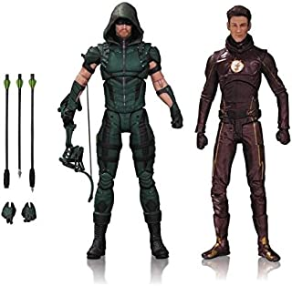 DC Collectibles TV: Arrow & The Flash Action Figure (2 Pack)