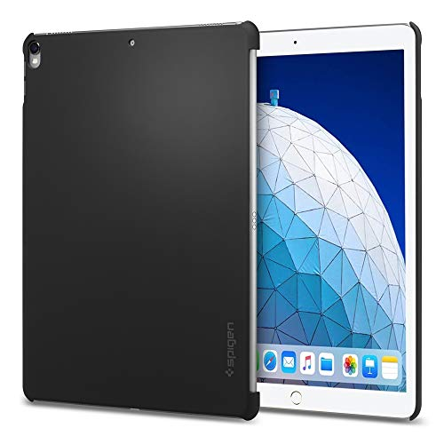 Spigen Thin Fit Designed for iPad Air 3 Case (10.5 inch 2019), iPad Pro 10.5 Case (2017) - Black