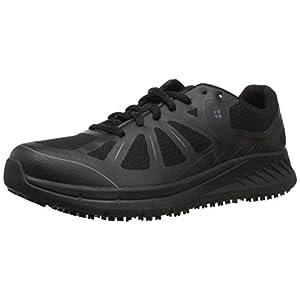 Shoes for Crews Men's Endurance II Slip Resistant Food Service Work Sneaker, Black, 10.5 Medium US