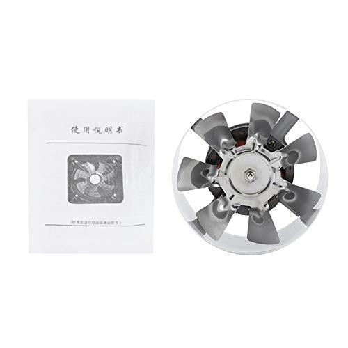 Nimoa Wandventilator, afvoerventilator met lage geluidsontwikkeling, starthulp voor badkamer, keuken, garage, lucht, aan de muur, 25 W, 220 V