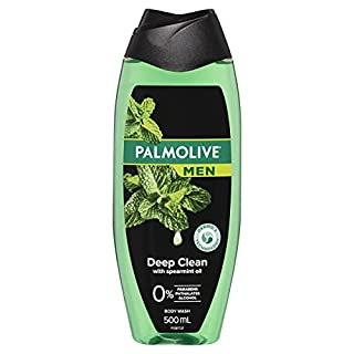 Palmolive Men Deep Clean Body Wash With Spearmint Oil, 500mL (B0778YCQGM) | Amazon price tracker / tracking, Amazon price history charts, Amazon price watches, Amazon price drop alerts