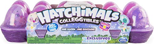 Hatchimals CollEGGtibles, 12 Pack Egg Carton with Exclusive Season 4 Hatchimals...
