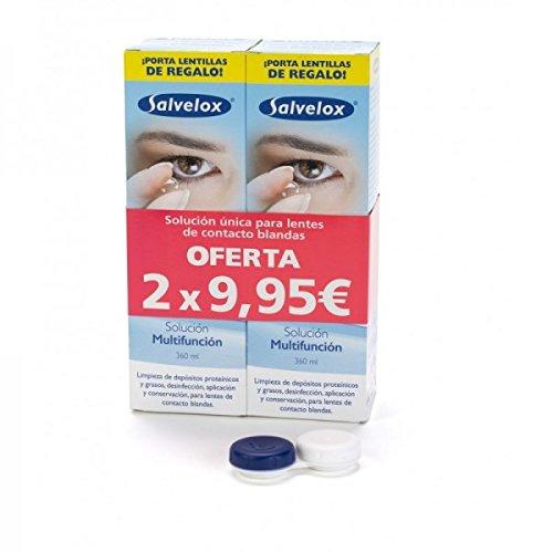 Repavar, Solución de limpieza y remojo para lentes de contacto - 2 Unidades